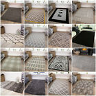 New Modern Black Grey Rugs Small Extra Large Big Huge Monochrome Soft Mats Cheap
