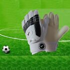 Youth kids Latex Soccer Goalkeeper Gloves Keeper Finger Protection Size 3#-7#
