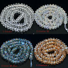 """4x8mm AAA Facted High Quality Quartz crystal Beads 8"""""""