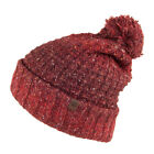 Timberland Hats Wells Beach Ombre Bobble Hat - Red