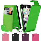 Flip Leather Wallet Case Cover For Apple iPhone 5C FREE Screen Protector