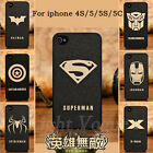 Hero Men Case Hard Phone Back Cover For Skin Apple Mobile IPhone 5 5c 5s 4s