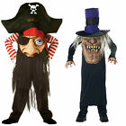 KIDS MAD HATTER HALLOWEEN FANCY DRESS COSTUME EVIL SCARY PIRATE MR HYDE CHILDS