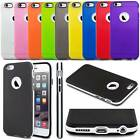 Hybrid Shockproof Hard Bumper Soft Silicone Gel Rubber Case Cover For iPhone 6/s