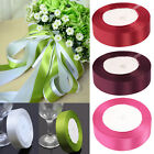 25 Yards (10mm/20mm) satin Ribbon Wedding Party Craft Satin DIY Hair Bow AS
