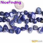 12x16mm Freefrom Blue Lapis Lazuli Jewelry Making Losse Beads Gemstone 15'' DIY