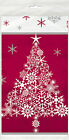 Sparkle Tree Plastic Table Cover - 1.37 x 2.13 m - Winter & Christmas Tablecover