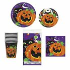 Happy Halloween Purple Pumpkin HALLOWEEN PARTY TABLEWARE RANGE {Unique}