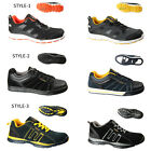 Mens safety steel toe work industrial worker lightweight trainers shoes size