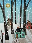 ART PRINT, FRAMED OR PLAQUE - BY KARLA GERARD - HEAVY SNOW - GER127