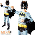 Batman Boys Fancy Dress Superhero Comic Book Kids Childrens Movie Costume Outfit