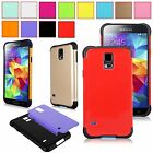 For Samsung Galaxy S5 i9600 Hybrid Armor Combo Hard Soft Shockproof  Case Cover