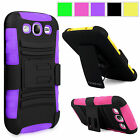 For Samsung Galaxy Grand Prime G530 Rugged Holster Belt Clip Hard Kickstand Case