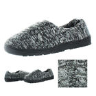 Muk Luks Neal Men's Cable Sherpa Lined Slippers House Shoes