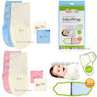 Original Adjustable 2- PACK Baby Infant Infan Swaddle Wrap 100% Cotton 7-15lbs