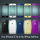 Premium Tempered glass film Front&Back Screen Protector for iPhone5 5s 6 6S Plus
