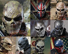 Metal Mesh Outdoor War Game Airsoft Paintball Tactical Gesr Skull Protect Mask