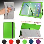 Perfect Fit Folio Case Cover Stand w/ Hand Strap For Samsung Galaxy Tab S2 9.7""
