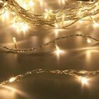 200 LED FAIRY STRING LIGHTS INDOOR CHRISTMAS XMAS MULTI FUNCTION CLEAR CABLE 20M