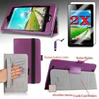 For Acer Iconia One 7 (B1-750) Premium Smart Case Cover Stand + 2 Films + PEN