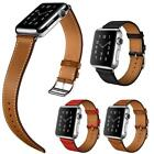 Contracted Genuine Leather Bracelet Watchband For Apple Watch 38MM/42MM Gifts