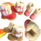 Baby Girls Infant Toddler Winter Casual Fur Shoes Rabbit Snow  Boots 9-72 Month