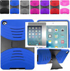 Screen Protector+2Layer Rugged Hybrid U-Case Cover w/Stand For Apple iPad Mini 4