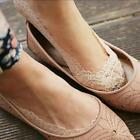 Womens Cotton Lace Flower Antiskid Invisible Liner No Show Peds Low Cut Socks LA
