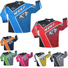 Wulfsport Crossfire Cub Motocross Jersey MX Enduro Top Shirt Kids Junior