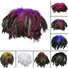 100Pcs Fluffy Beautiful Rooster Feather Fringe Decoration Home Craft DIY 6-8''