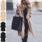 Hotly Women's Waterfall Fallaway Open Cape Cardigan Long Jacket Coat Outwear