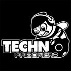 TECHNO PRISONERS (house music vinyl poster cd party dj remix club dance) T-SHIRT