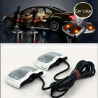 2Pcs 6th Gen Projector Laser LED Door Step Shadow Logo Light For Cars HFCA