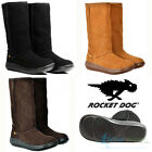 Rocket Dog Sugar Daddy Ladies Cow Suede Classic Calf Boots Size UK 4 5 6 7 8