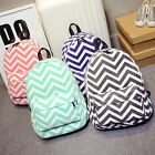 Fashion Women Canvas School Bag Girl Cute Backpack Travel Rucksack Shoulder Bag
