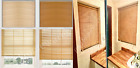 Window Venetian Blinds Wood Grain Effect / Easy Fit Home Office All Color&Sizes