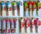 CHARACTER Bouncy Ball & Candy Tubes (Sweets/Toy){TS/HK/DP/MSM)}{fixed UK p&p}
