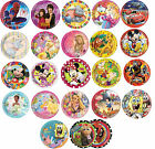 10 PAPER PLATES (23cm) LICENSED CHARACTER DESIGNS Range (Birthday Party){SetE}