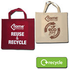 LARGE RECYCLE REUSABLE STRONG SHOPPING LAUNDRY BAG ECO-FRIENDLY WASHING SACK