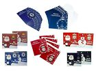 OFFICIAL FOOTBALL CLUB CHRISTMAS CARDS - Packs of 10 - Various Teams & Designs
