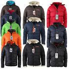 GEOGRAPHICAL NORWAY HERREN WINTERJACKE OUTDOOR JACKE STEPPJACKE KAPUZENJACKE
