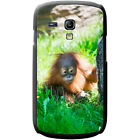 Orangutan Monkey Primates Animal Hard Case For Samsung Galaxy S3 Mini (i8190)