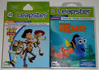 Leap Frog Leapster Game Lot - Finding Nemo Science NEW Toy Story 3 Reading Math