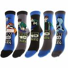 BEN 10 ULTIMATE ALIEN BOYS SOCKS | AVAILABLE IN 2 SIZES | 5 DESIGNS