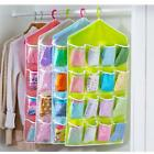 New! 16 Pocket Wall Hanging Bag Organizer Shoes Closet Wash Room Door Storage LA