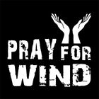 PRAY FOR WIND (surfer surfing sailing windsurfing surfboard board kite) T-SHIRT