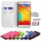 Flip Wallet PU Leather Mobile Phone Case Cover For Vodafone Smart 4 Turbo