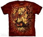 FIRE TIGER ADULT T-SHIRT THE MOUNTAIN ORDER