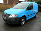 Volkswagen VW Caddy C20 PLUS diesel van 2010 air con 44000 miles twin side doors