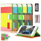 For iPhone 6S/6 Luxury PU Leather Magnetic Flip Wallet Stand Credit Card Case